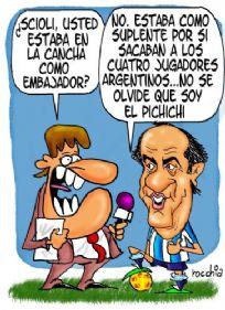 ¿Scioli estuvo en Brasil - Argentina?