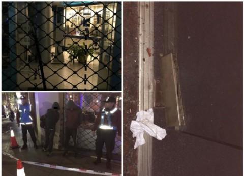 La Policía de la Ciudad detuvo in fraganti a dos ladrones en una óptica de Recoleta