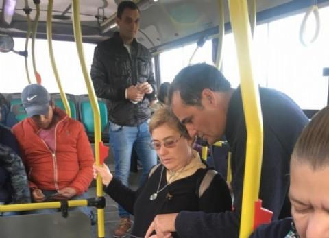Escudero continúa sumando apoyos para bajar el boleto de colectivo