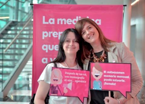 Prevención Salud impulsa una iniciativa por la detección precoz del cáncer de mama