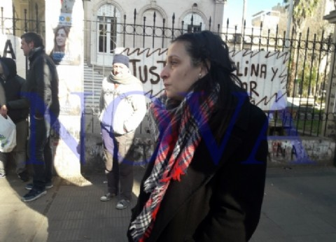 Melina Cruz pidió garantías para su vida y la detención de su agresor, denunciado 13 veces