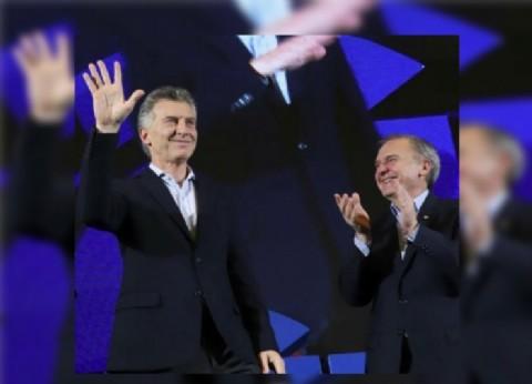"""Macri se mostró en la CAME junto a un empresario """"violín"""" y corrupto"""