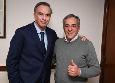 Pichetto se reunió con Jesús Cariglino, candidato a intendente de Malvinas Argentinas
