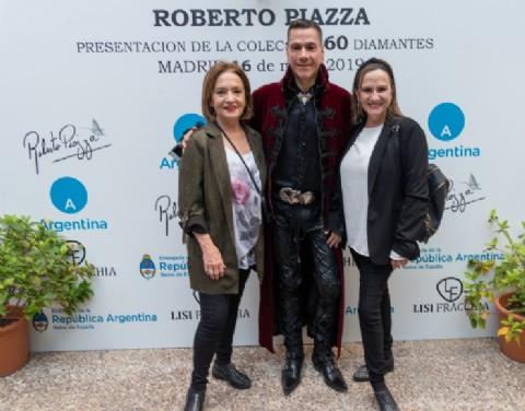 Roberto Piazza desembarcó en Madrid rodeado de celebridades y miembros de la realeza