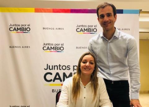 """Laura Ricchini: """"Es un orgullo acompañar a María Eugenia Vidal desde la Cuarta Sección"""""""
