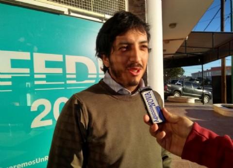 Chubut: el precandidato a intendente de Rawson, Federico González, presentó su lista de concejales