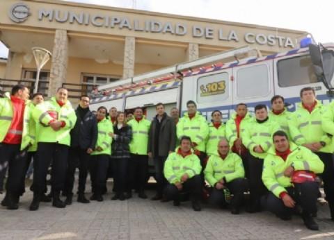 La Municipalidad de La Costa sumó una flota de vehículos para Defensa Civil