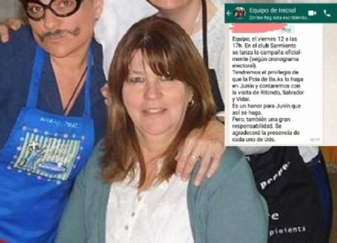Junín: una inspectora de Nivel Inicial arenga por WhatsApp a docentes a bancar el inicio de la campaña del oficialismo