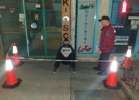 Detienen a uruguayo que intentó robar en una casa de comidas
