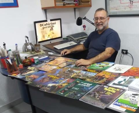 Una charla con Roberto Goiriz, prócer de la historieta paraguaya
