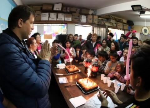 "La Costa: Juan Pablo de Jesús participó del ""Cumple Fiesta"" en Santa Teresita"