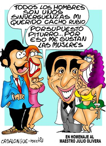 Piturro y Cacho Rubio