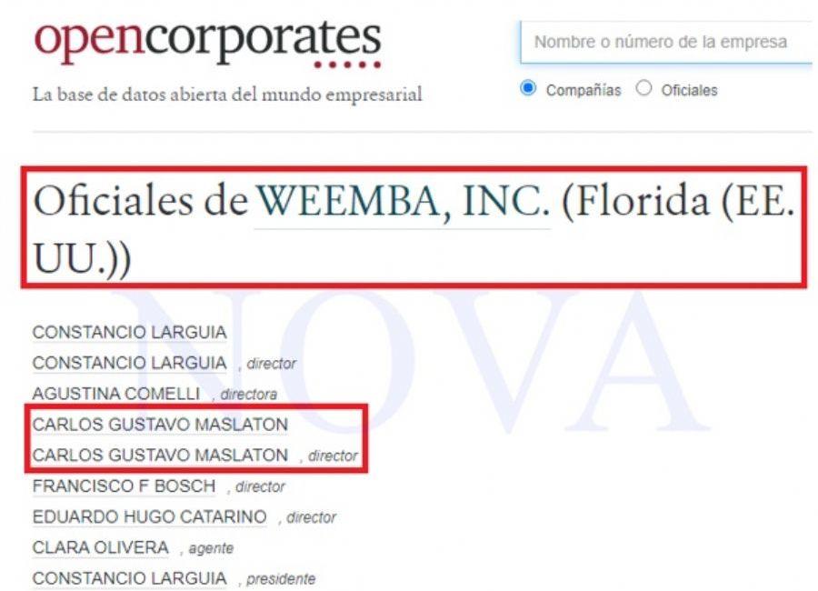 Carlos Maslaton tiene una cuenta off shore en Miami. (Foto: NOVA)