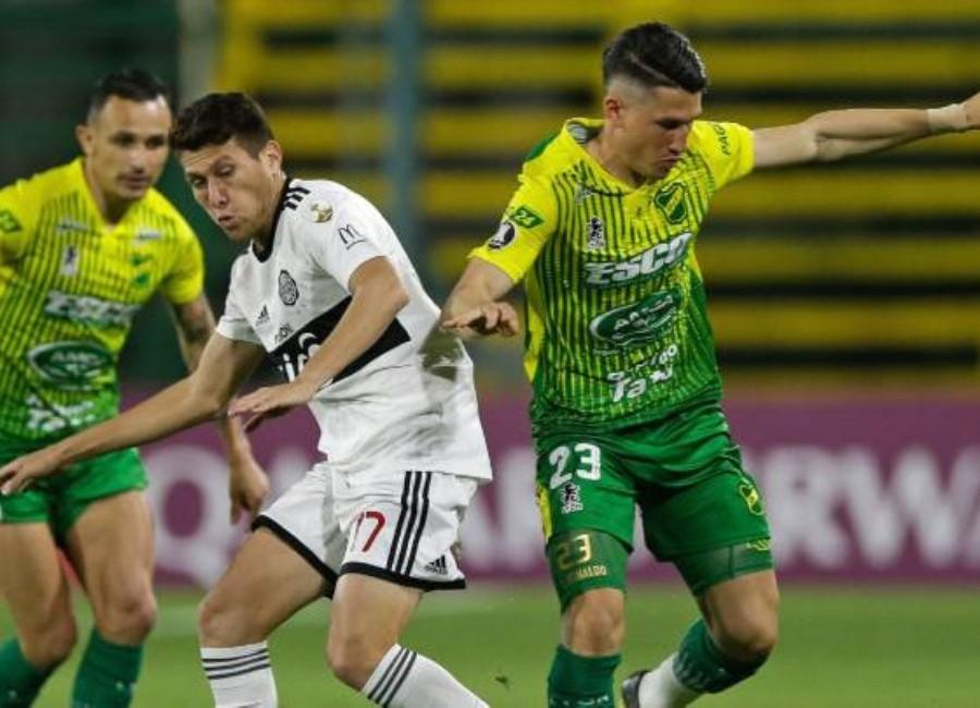(VIDEO) Grave lesión de jugador de Olimpia en la Libertadores