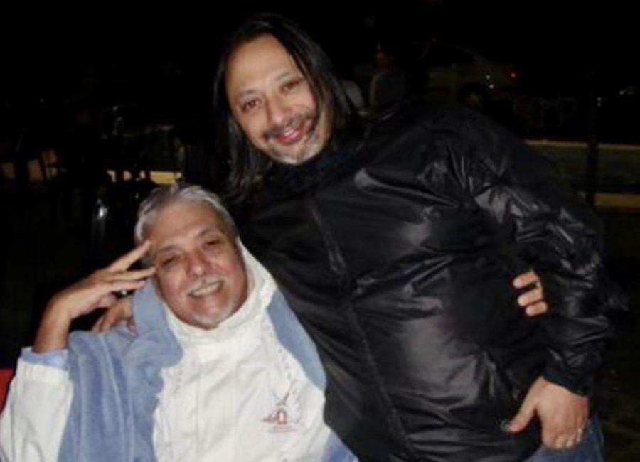 Dani Avila junto a Eduardo Pérez Guerrero.