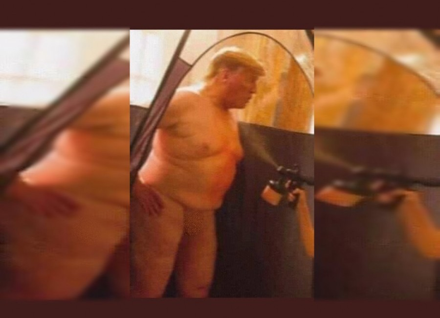 Donald Trump desnudo