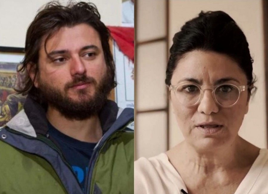 Juan Grabois y Dolores Etchevehere